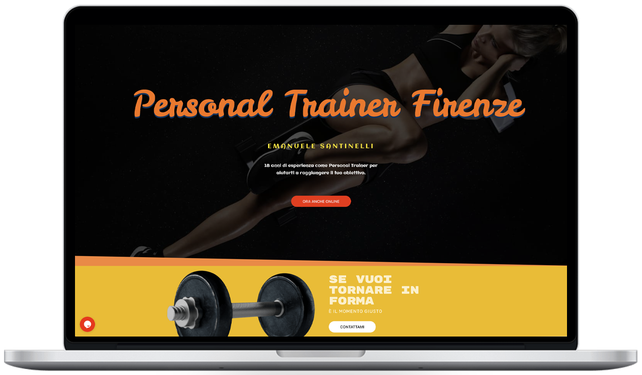 - personal trainer firenze - Emanuele Santinelli