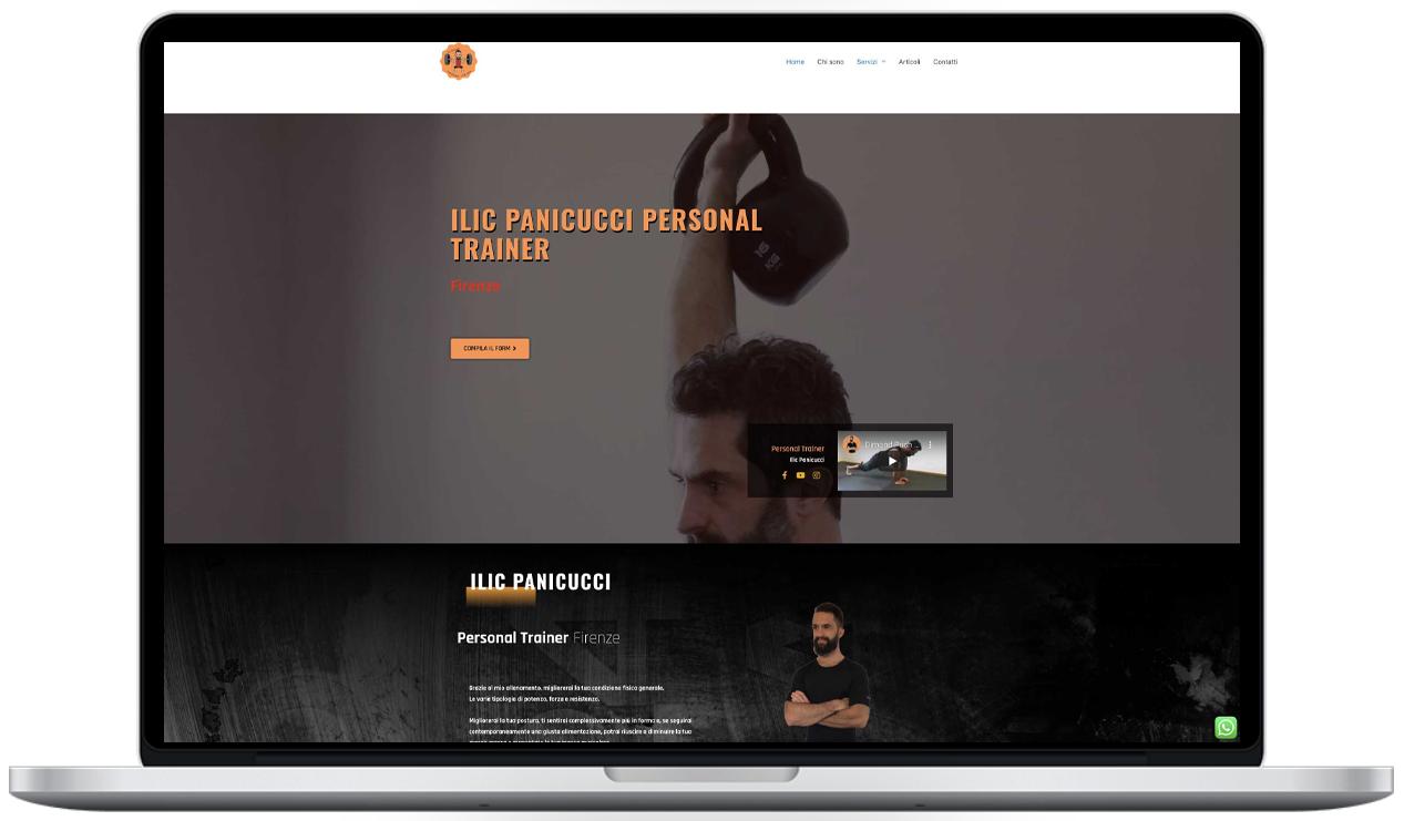 ilic panicucci - personal trainer